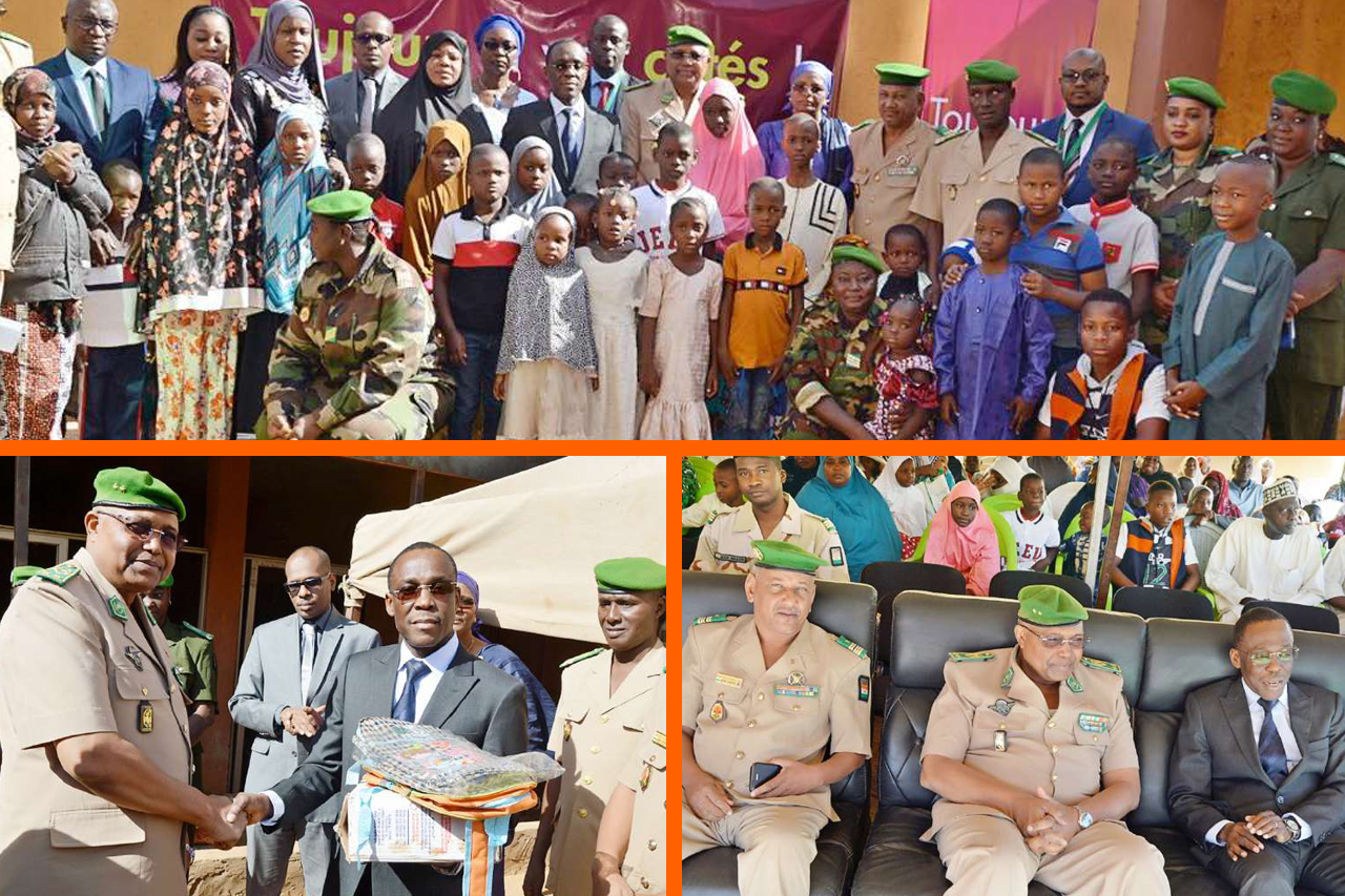 Don de la Fondation BANK OF AFRICA NIGER