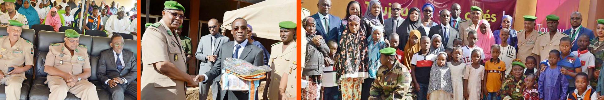 Don de la Fondation BANK OF AFRICA – NIGER